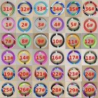 beads plastic beads - Hottest Lokai Shark Neon Lokai Bracelets Mud and Water Black and White beads lokai Silicone Bracelet Gift Jewelry Balance