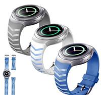 Acheter Samsung montre engrenage s2-2016 Nouvelle sangle Arrvial Silicon Samsung Gear S2 Bracelet montre bande de remplacement de bracelet de remplacement pour <b>Samsung Gear S2 Watch</b>