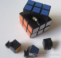 Wholesale 2016 mm Kathrine third order matte black cube stickers affixed stickers X3X3 black sand stickers order magic cube