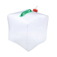 Wholesale Hydration Packs Outdoor Travel Military Relief Portable Folding Portable Water Bag Folded Square Bucket outdoor water bag