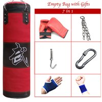 Wholesale cm Empty Sandbag Health Control Punching bag for boxing Indoor Sports Punching Training bags Earthbags bagwork