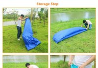 Wholesale 250 cm five seconds Inflatable lazy Inflatable sofa hiking camping hangout beach swimming pool laybag