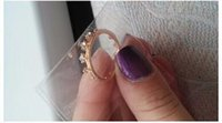 beauty ring flash - nz290 New Fashion Flash Drill Crown Ring Jewelry Shiny Elegant Beauty gold Ring
