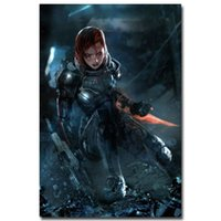 action figure mass effect - Mass Effect Hot Shooting Action Game Art Silk Poster Print x36 quot Wall Pictures For Bedroom Living Room Decor