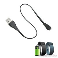 Wholesale Fitbit Charge HR Charging Cable cm USB Power Charger Cord Replacement Cables Magnetic IC Circuit Protection Cords For ChargeHR Bracelets