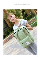 backpack diaper bags - 2016 New Canvas Students Shoulder Backpacks School Diaper Bags Korean Style School Rucksack Deuter Backpacks Student rucksack Colors