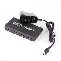 amplifiers hdmi switcher - 3D K HDMI x4 P Splitte Full HD P Amplifier HDMI Switch Switcher in Out Converter adapter For HDTV