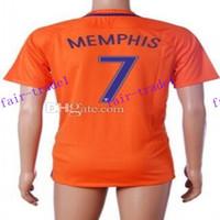 away design - design custom thai quality memphis soccer jerseys shirts new season netherlands away national team v persie football jersey tops_