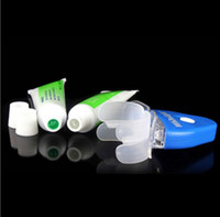Wholesale Free DHL Dental Tooth Teeth Cleaner Whiten Whitening Whitener System Whitelight Kit Set With OPP Package
