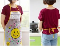 bib offering - New hot Promotion Special Offer Apron Kit Bib Apron Cartoon Long Sleeve Cuff Waterproof Aprons Gowns Suits For Men And Women