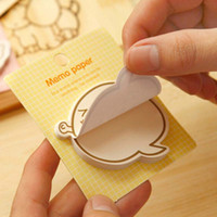 Wholesale 20pcs Cute Inspirational Expression Sticky Notes Post It Memo Pad School Supplies Planner Stickers Paper Bookmarks Stationery