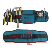 Wholesale Multifunctional tool pockets portable durable wear waterproof oxford cloth including belt C type