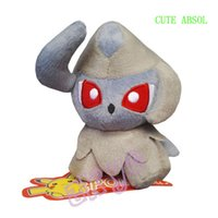 absol plush - Absol quot cm Pokem Pocket Monster Baby Soft Animal Plush Doll Figure Gift For Child