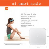 Wholesale Bluetooth Xiaomi Scale Mi Smart Health Weighing MiScale Electronics Lose Weight Digital Scale White