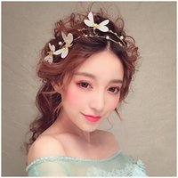 Wholesale Hot Selling Imitation Goods Pearl Bridal Hair Accessories Hoop Bride Hair Comb Hairpin Headdress Wedding Hair Ornaments Headdress Gh016