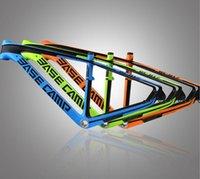 Wholesale New full carbon Mountain Bike bicycle frame sky x16 x18 One piece carbon fiber frame blue green orange