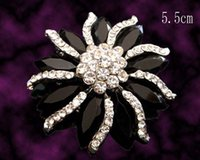 asian wedding pictures - Women Silver plated Zinc alloy rhinestone flowers Brooches costume jewelry pictures colors BH459