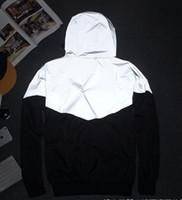 Wholesale Men Jacket Autumn Patchwork Reflective m Jacket Sport Hip Hop Outdoor Waterproof Windbreaker Men Coat Trend Brand