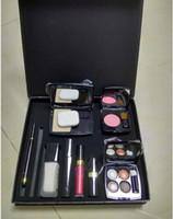 bb eyeliner - Makeup nine sets pack Set Cosmetic Set Makeup medium Mascara Eyeliner Lipstick Lip Gloss blush BB cream puff Cosmetic Set with brand C logo