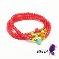 jewelry made in china - Pulseras Mujer Masculina Glass Beads Bracelets Bangles for Women Men Jewelry Silver Plated arm Pulseira Femme Bijoux made in china