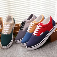 assorted shoes - Spring Autumn Mens Trend Classic Canvas Shoes Plimsolls Lace up Assorted Colors Men Low Board Sneakers Espadrille