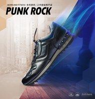 band aides - Aide Baou all match low sports men s shoes casual shoes men s leather rivet British tide men s shoes