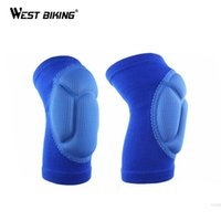 Wholesale 2Pcs Pair Knee Pads Breathable Elastic Sports Thickening Football Volleyball Extreme Leg Sleeve Knee Protector Cycling Knee Pads
