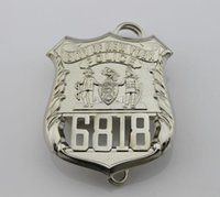 Wholesale The United States of New York NYPD common metal badge