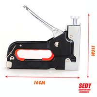 Wholesale 2016 New BOSI Heavy Duty Rapid Upholstery Hand Staple Nail Tacker Stapler Gun Set