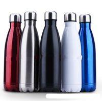 stainless steel double wall bottle - Soda Classic Double Wall Vacuum Insulated Stainless Steel Water Bottle oz ML