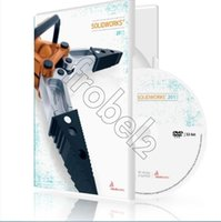 Wholesale Factory Full cracked SolidWorks ProEnglish for win DVD English Language software Plastic color box packaging