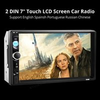 Wholesale 7010B Inch HD P Bluetooth Touchscreen Double DIN Car Vehicle Stereos MP5 Player MP3 FM Radio Support USB With Remote Control CMO_210