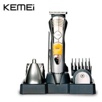 Wholesale KEMEI In Professional Multinational Hair Clipper Razor Shaver Household Rechargeable Hair Cutting Machine KM A