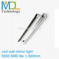 bathroom dressing tables - 5W W Bathroom LED Mirror Light AC220V SMD5050 Stainless Steel Dressing Table Sconces LED Wall Lamps bathroom mirror with light