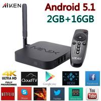 Wholesale MINIX NEO U1 Android S905 Quad Core GB GB ac Dual WiFi H HEVC K Bluetooth TV Box Android Media Player