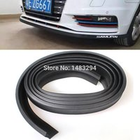 Wholesale Universal M TPVC Scracth Resistant Front Bumper Lip Protector Side Door Edge Strip Spoiler For All Cars