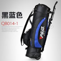 Wholesale Qb014 New Pattern PGM Quality Goods Bracket The Ball Golf designer bags men Package Dress Branch Bring Pulley golfbag