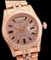 best swiss movement watches - 2016 LUXURY WATCH Gold diamonds Best Edition Swiss ETA2836 Swiss ETA Swiss ETA movement watches sea009