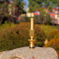 Wholesale Garden Water Gun Brass Water Spray Nozzle With Tap Connector For Joint Snap in Quick Washing Car Watering Flower OHA1295