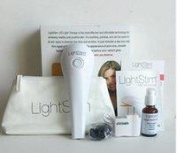Wholesale LightStim for Wrinkles Ance Face And Skin Care Massager Vibration LightStim Plus Device free Collagen Peptide Serum DHL free