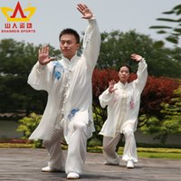 Wholesale Who exercise days for tai chi clothing silk silk clothes and a martial arts factory