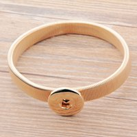 Wholesale DHL Free Fasion New Design Colors Women s Bangle Noosa Chunk Snap Buttton Jewelry Bracelet Statement Jewelry High Quality Gift