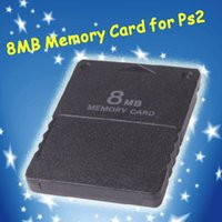 Wholesale 1pcs New Free Drop Shipping Card for PS2 for Playstation for PS MB M MB Memory