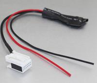 Wholesale Car Bluetooth module Aux cable adapter interface for BMW E60 E63 E64 E61 radio