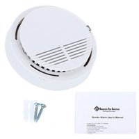 Wholesale Photoelectric Smoke fire Alarms System Sensor Fire Alarm Detached Wireless Detectors Home Security High Sensitivity warhouses device hot