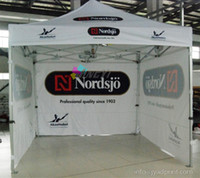Wholesale 3X3m Custom Print Outdoor Advertising Folding Popup Canopy Custom Printed X15FT Trade Show Tent Marquee