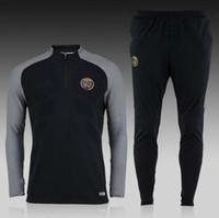 best men s suit - Best quality Paris training suit Ligue Football Sportswear Set skinny pants
