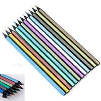 Wholesale Metallic Non toxic Colored Drawing Pencils Colors Drawing Sketching Pen R739