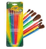 Wholesale Crayola Brushes For school baby toys drawing for kids Gift Toys A10