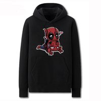 assassins creed patterns - new Cotton Hoodie Spider Man cartoon Deadpool Pattern sweatshirt assassins creed Multicolor Europe size XS XL